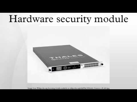 Hardware security module