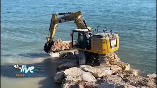 Rigenerazione costiera: proseguono i lavori allo Scoglio di Frisio