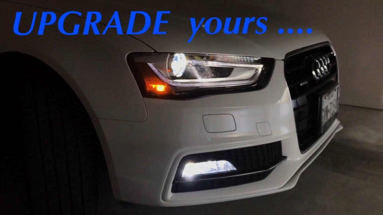 Fog Light Upgrade For My 2016 Audi A4 Premium Plus Youtube