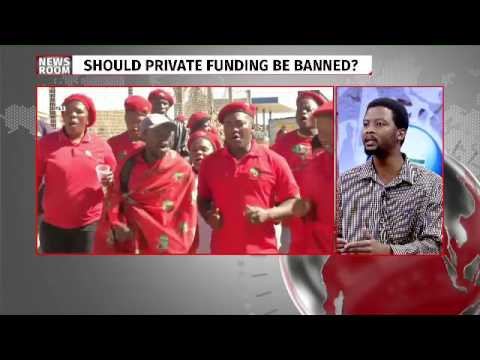 Debate over political party funding