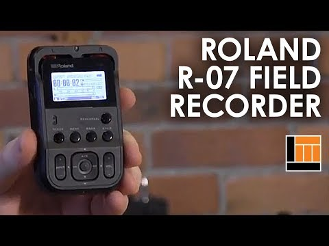 Roland R-07 Compact Handheld Field Recorder [Product Overview]