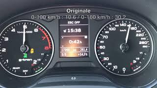 Rimappatura Audi A3 1.4 TFSI G-Tron 110cv By TopTuning Treviso