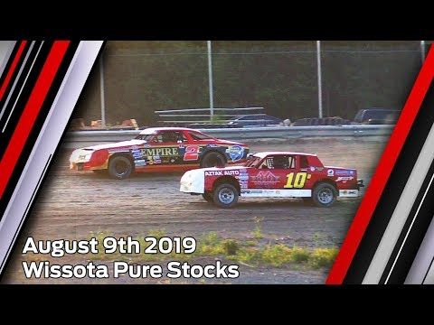 August 9th 2019, LOWS Wissota Pure Stocks Heat & Feature