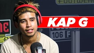 Repeat youtube video Kap G Talks Single 'Girlfriend', Acting Career, Purging If Donald Trump Wins Election, And More!