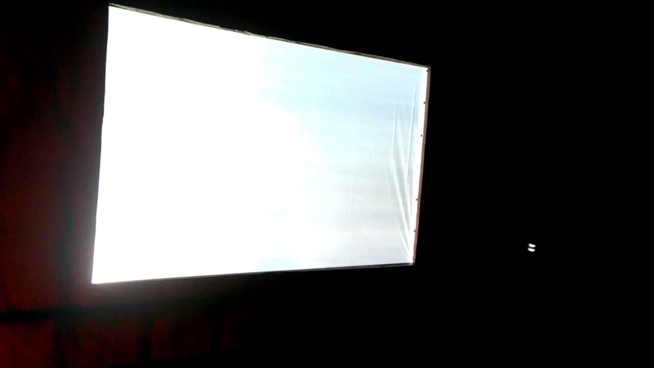 halloween outdoor projector set up youtube