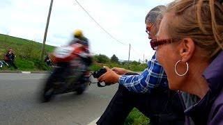 Isle of Man TT - 2ft away 180mph ★HD★ Jane's first time at the races 2013