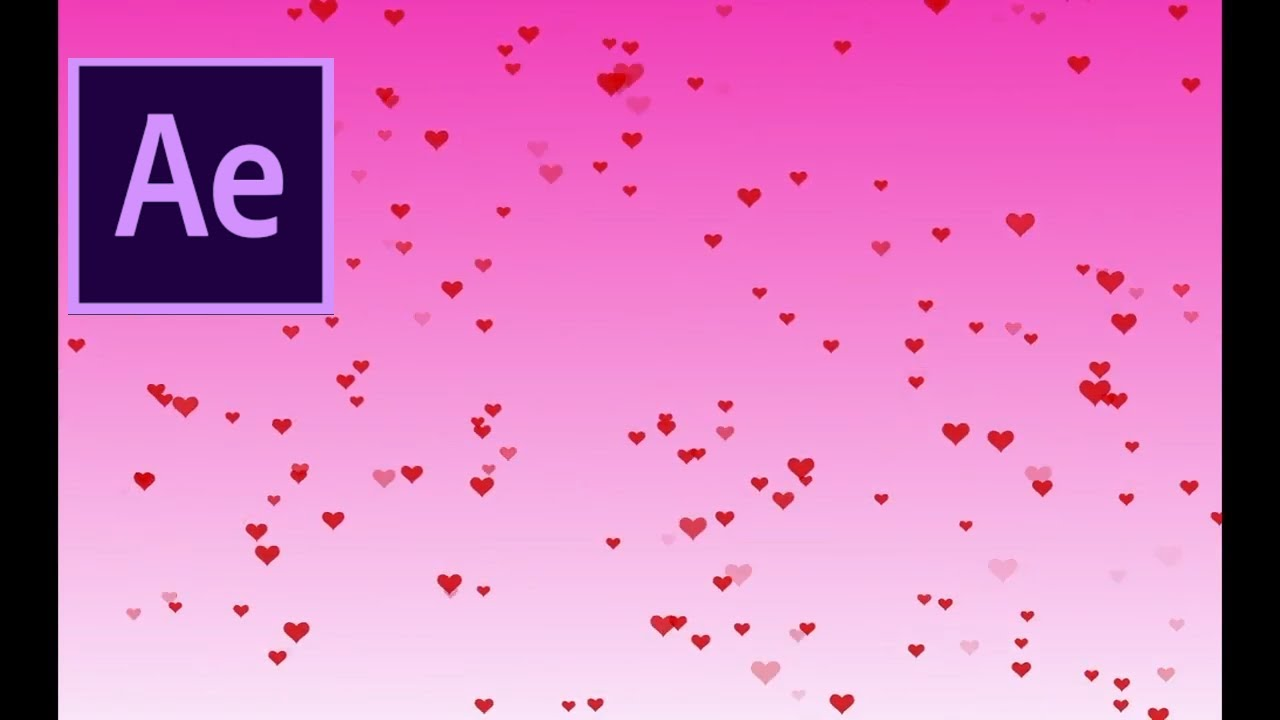 How to Create a Floating Heart Background in Adobe After Effects
