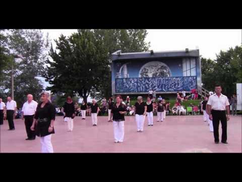 Festival de danse en ligne au parc des rapides 2013