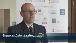 2018 8th Annual Operational Excellence in Shipping - Commander Nathan Menefee Interview