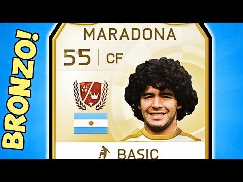 IL MARADONA SU FIFA E' UN BRONZO!! - Fifa 16