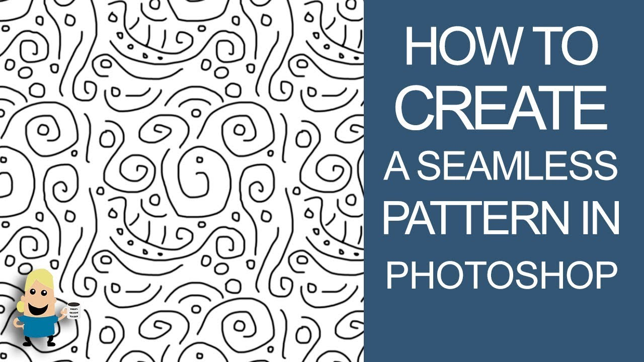 Aninimal Book: HOW TO CREATE A SEAMLESS PATTERN IN PHOTOSHOP - YouTube