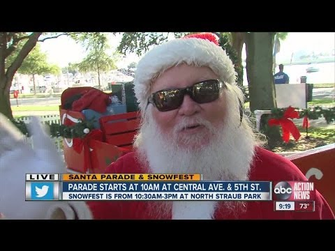 Sean Daly Live with Santa
