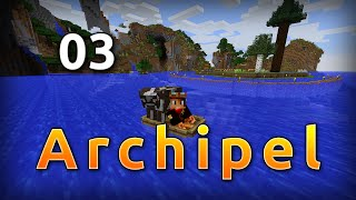 Minecraft Archipel 03 - Transport de bétail