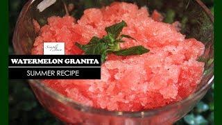 Watermelon Granita | How To Make Granita | Summer Special | Simply Jain
