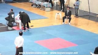 74kg Anil Buyukpilic vs Bayram Bozkurt (2013 Turkish Senyor TKD Championships)