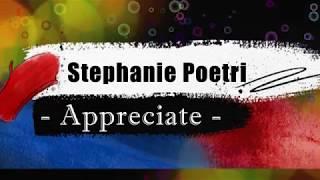 Stephanie Poetri - Appreciate KARAOKE TANPA VOKAL