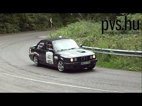 Szombati István - Szabó Gyula - BMW 320 - IV. Vác Rally