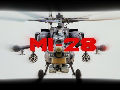 Russian attack helicopter Mil Mi-28/Ruski jurišni helikopter Mil Mi-28/Ударный вертолет Мил Ми-28