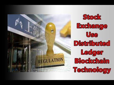 Stock Exchange Use Distributed Ledger Blockchain Technology || CNA सच ||