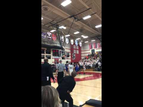 East Troy (WI) Basketball BUZZER BEATER To Win Playoff Game!