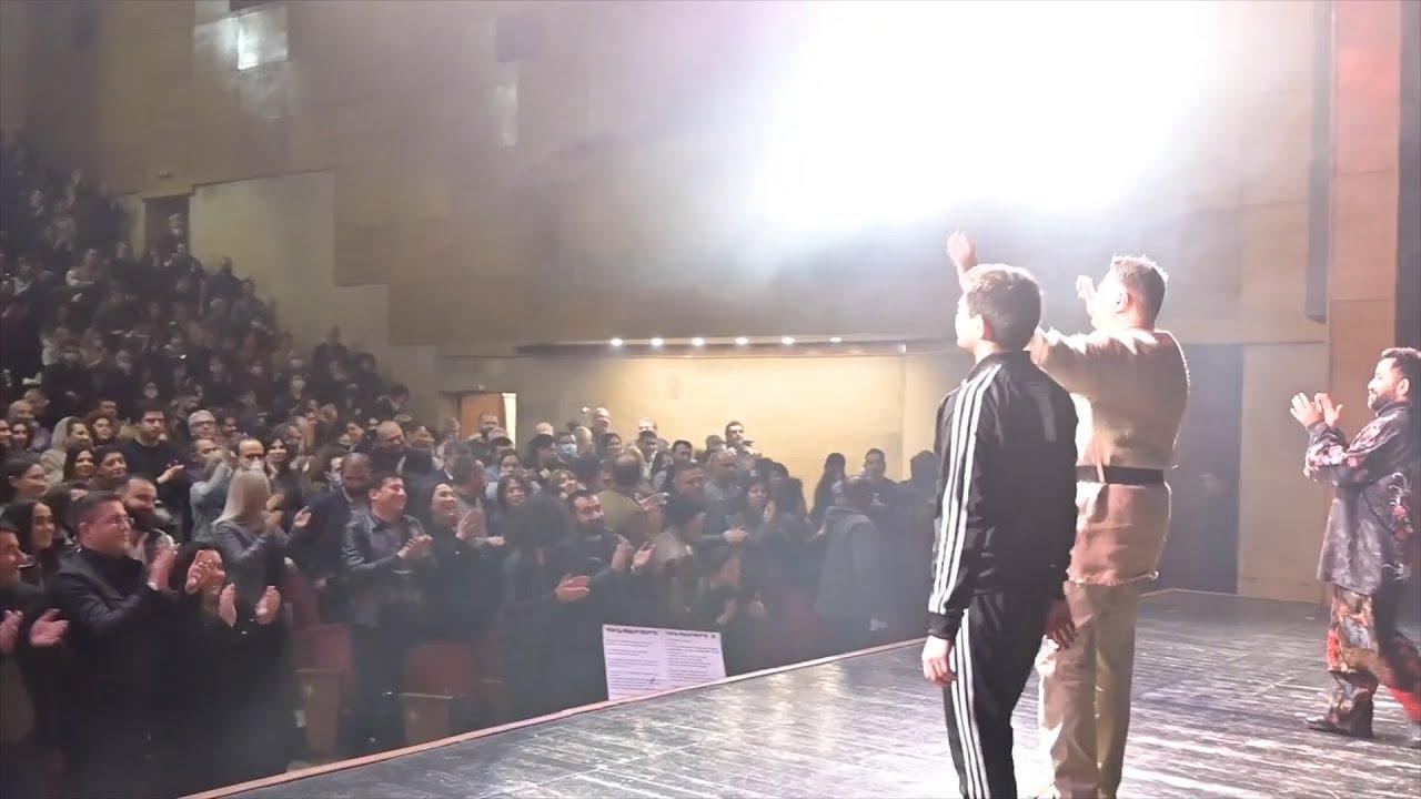 Տեսանյութ.Վահրամ Սահակյանի «Անմարդկային կատակերգություն» ներկայացման ավարտին հանդիսատեսը գոռում է՝ «Նիկոլ դավաճան»