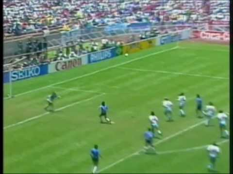 "Diego Maradona - the ""Hand of God"" goal - YouTube"