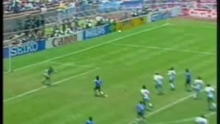 "Diego Maradona - the ""Hand of God"" goal"