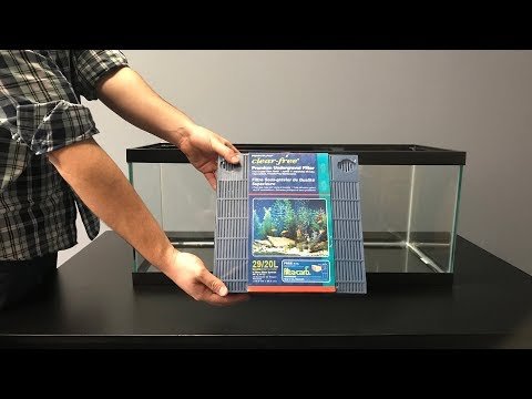 How To Set Up A Penn-Plax Clear-Free Undergravel Filter