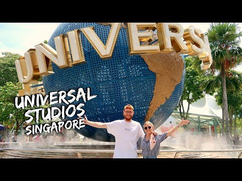 A DAY AT UNIVERSAL STUDIOS SINGAPORE!