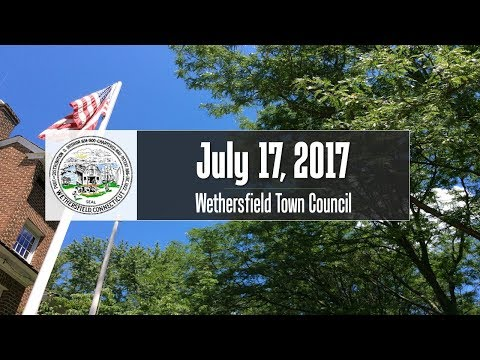 July 17th, 2017 Town Council