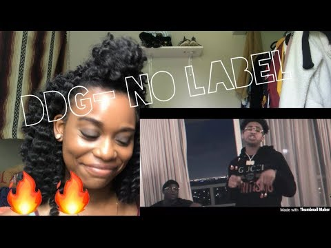 """DDG-""""NO LABEL"""" (OFFICIAL MUSIC VIDEO) *REACTION*"""