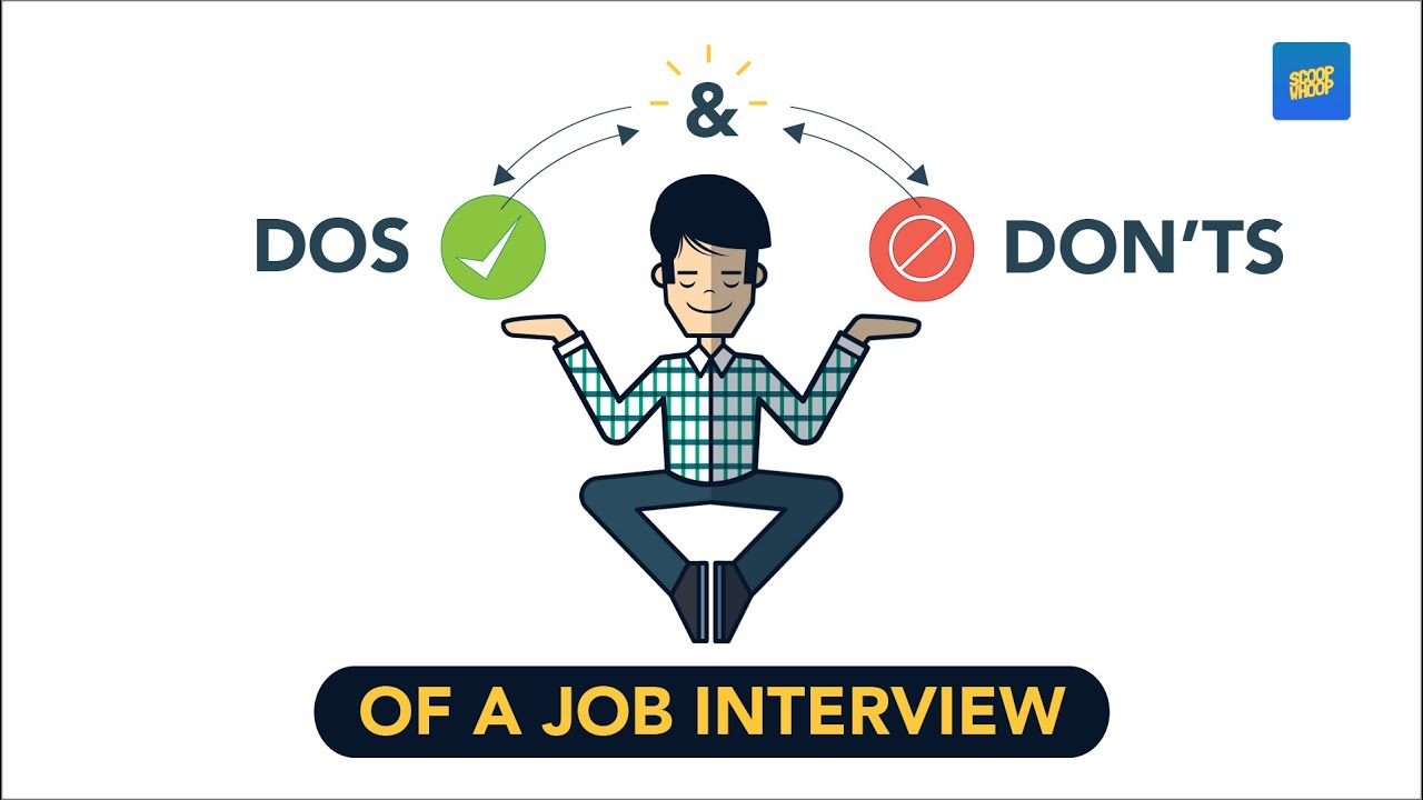 scoopwhoop dos and dont s of a job interview scoopwhoop dos and dont s of a job interview