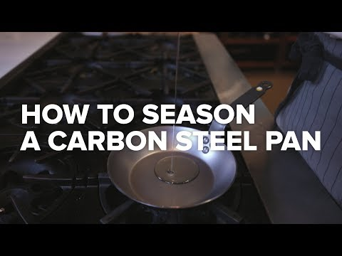 How to Season a Carbon Steel Pan