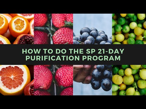 How To Do The Standard Process 21-Day Purification Program With Dr. LeMay