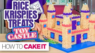 Rice Krispies® TOY CASTLE! | How To Cake It
