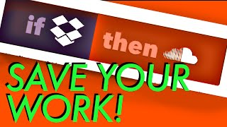 Back Up your Voiceover Renders with IFTTT Dropbox, Soundcloud