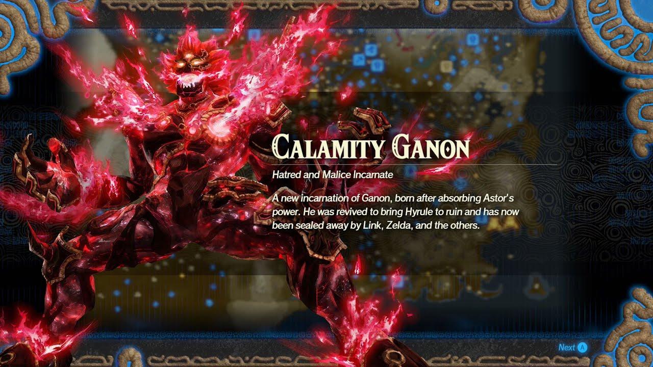 Hyrule Warriors Age Of Calamity Challenge Versus Calamity Ganon Vh Mode Unlocking Ganon Youtube