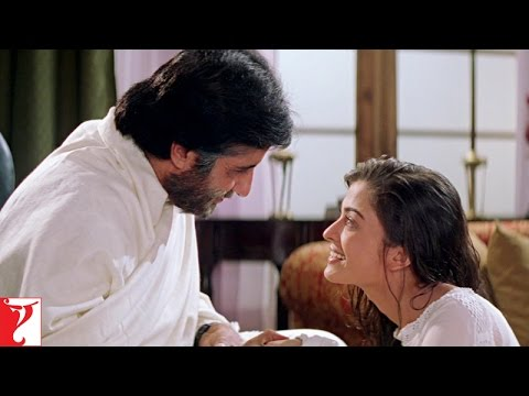 Mohabbatein  Aap iss duniya ke sabse acche papa hai  Amitabh Bachchan  Aishwarya Rai