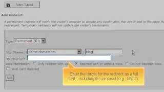 كيفية إعادة توجيه URL