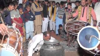 Funny desi pothwari punjabi dance with dhol and teeth power mirpur ranitaj kahuta rawalpindi