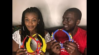 HUSBAND GUESSES THE PRICES OF MY JEWELLERY // Maasai Market Haul