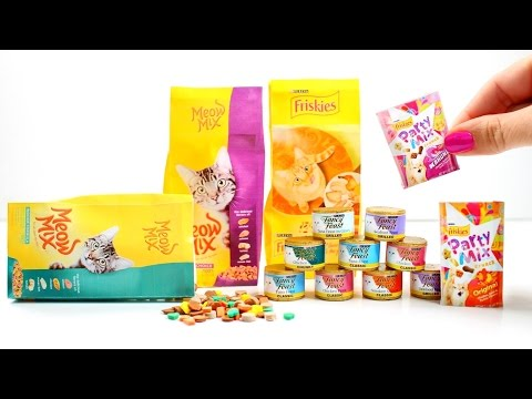 How to Make Pretend Play Cat Food for American Girl Dolls