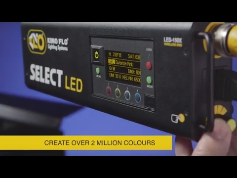Kino Flo Select LED 30 with Gel Presets & Dial-in 360° Colors