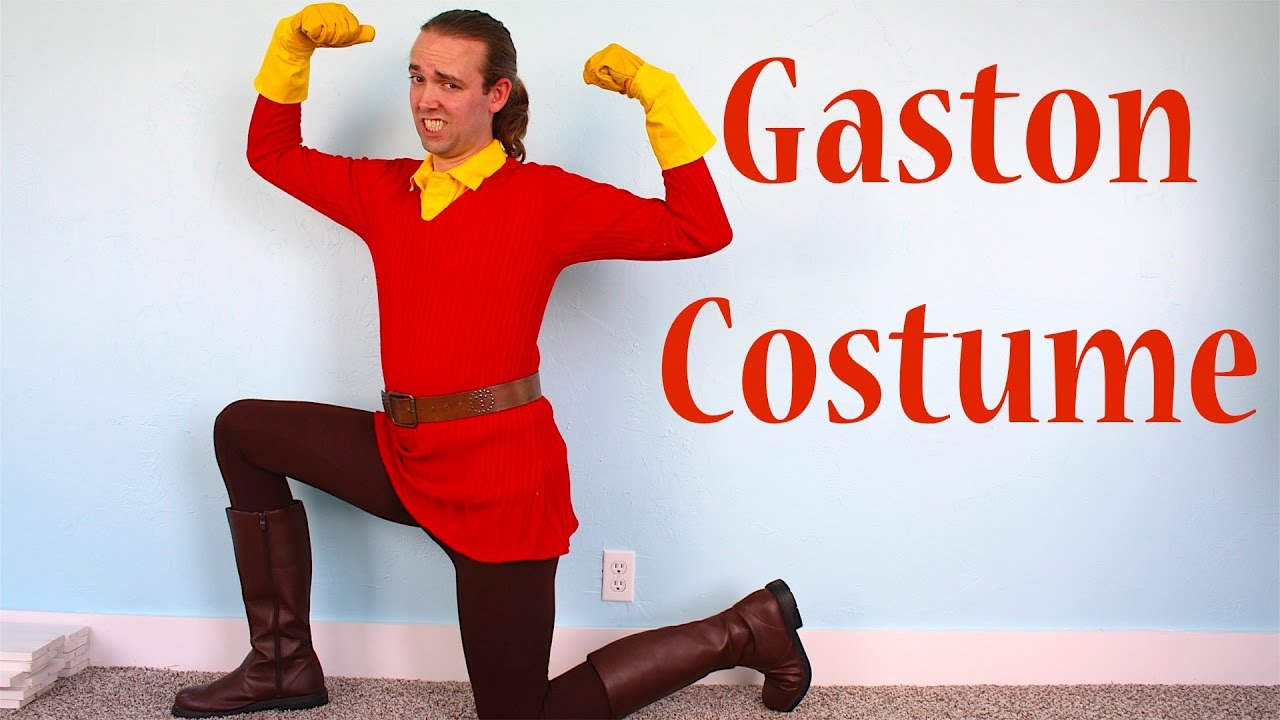 How to make a gaston costume from disney beauty and the beast youtube how to make a gaston costume from disney beauty and the beast solutioingenieria Gallery