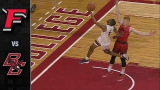Fairfield vs. boston college: college was able to hold on late and get the 77-67 win over fairfield. eagles were without sophomore steffon mitch...