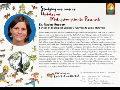MHHC Wild Wildlife with Kanchil and Friends -  Dr Nadine Ruppert