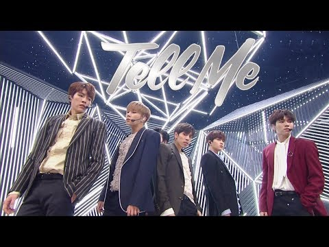 《Comeback Special》 INFINITE(인피니트) - Tell Me @인기가요 Inkigayo 20180114