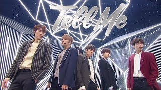 Comeback Special INFINITE 인피니트 Tell Me 인기가요 Inkigayo 20180114