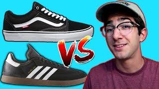 VANS vs ADIDAS SKATE SHOES!