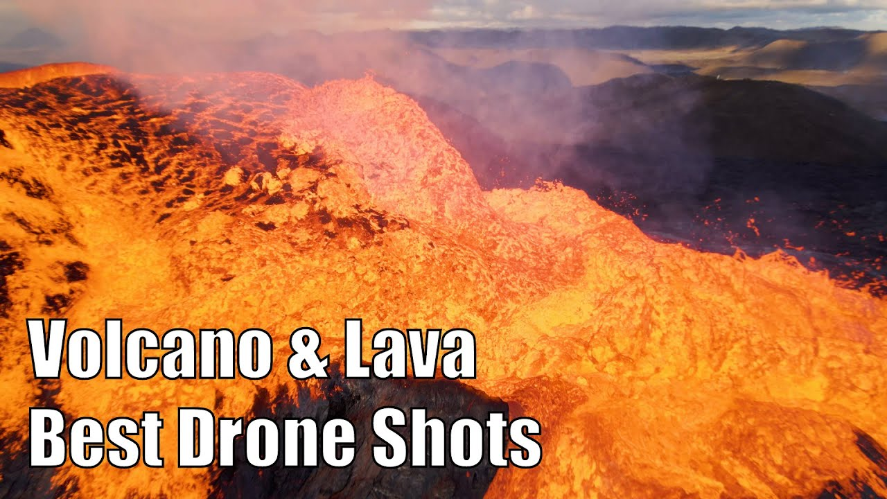 Iceland Volcano – Best Drone Footage